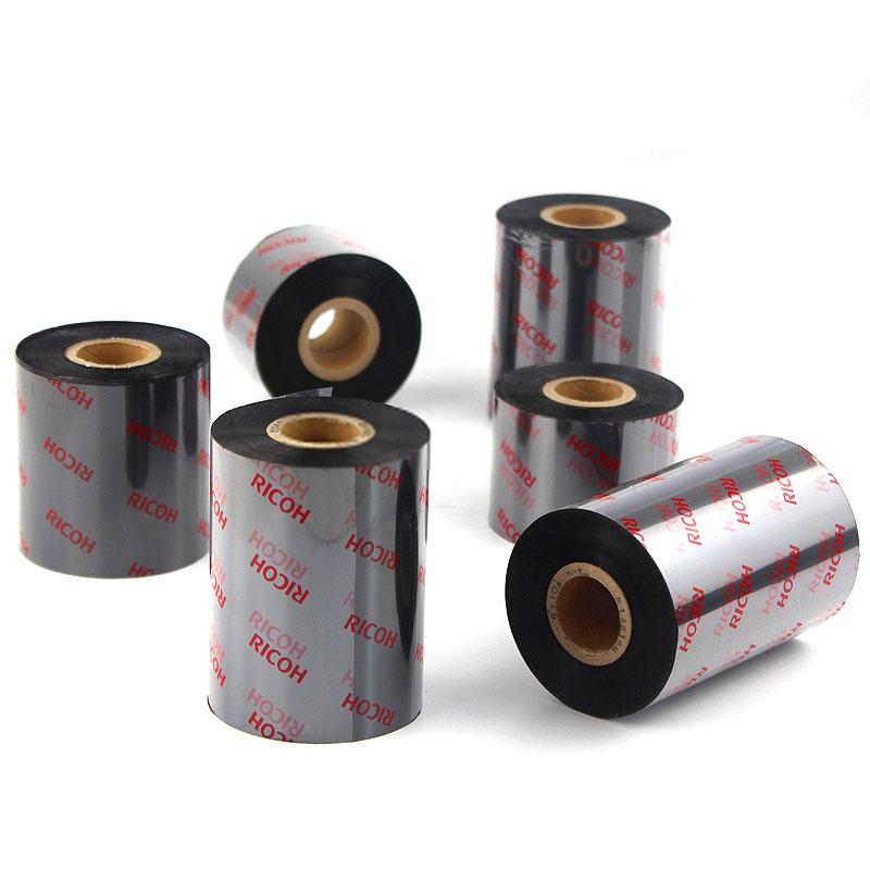 理光碳带B010CR/B110CX/B120EC树脂基碳带(黑色碳带)